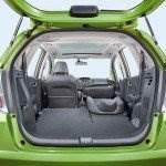 Kofferraum Laderaum vom Honda Jazz Hybrid