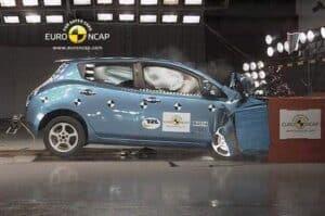 NCAP-Crashtest Nissan Leaf