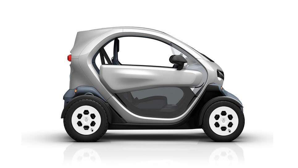 renault twizy futuristischer elektro zweisitzer f r die city elektroauto. Black Bedroom Furniture Sets. Home Design Ideas