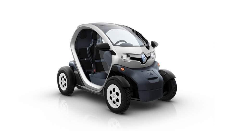 renault twizy futuristischer elektro zweisitzer f r die city elektroauto. Black Bedroom Furniture Sets. Home Design Ideas