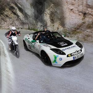 Die Rallye e-miglia