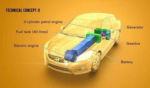 Volvo Range Extender Konzept 2