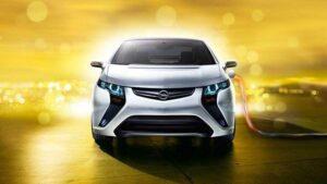 Frontalansicht Opel Ampera