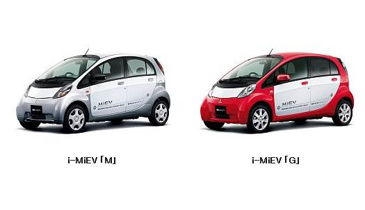 Mitsubishi i-MiEV Modelle M und G