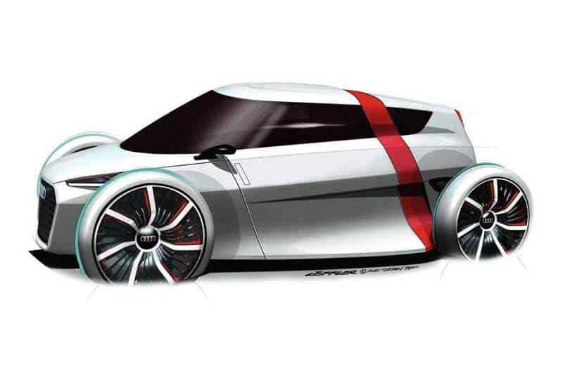 Audi e-Tron urban concept