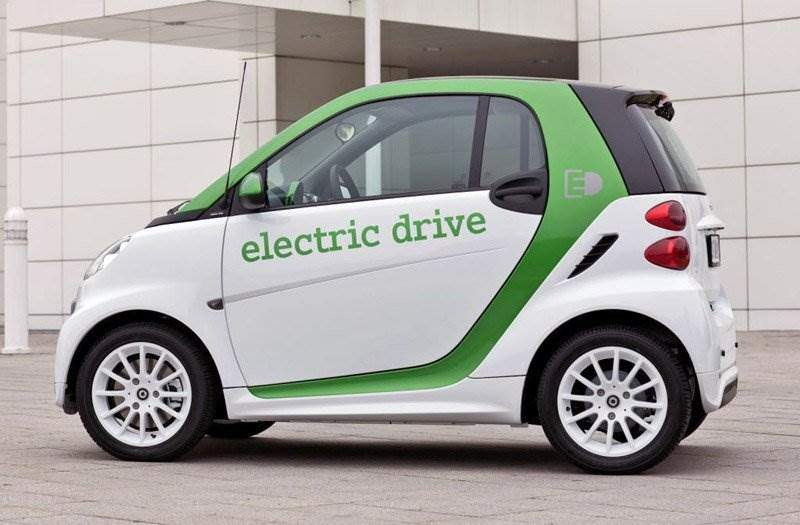 smart fortwo electric drive seite