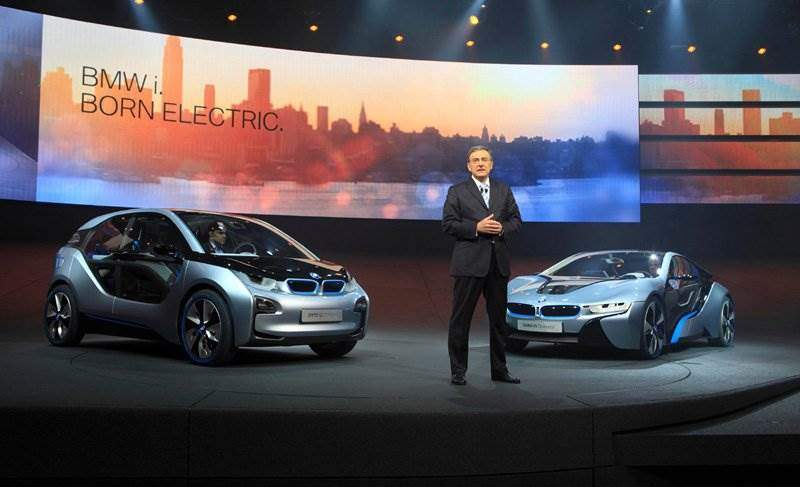 bmw stellt konzepte zu bmw i modellen vor elektroauto. Black Bedroom Furniture Sets. Home Design Ideas