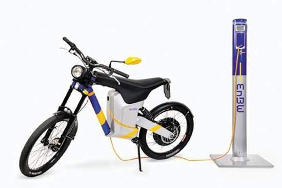 e-bike elmoto ladesaeule enbw