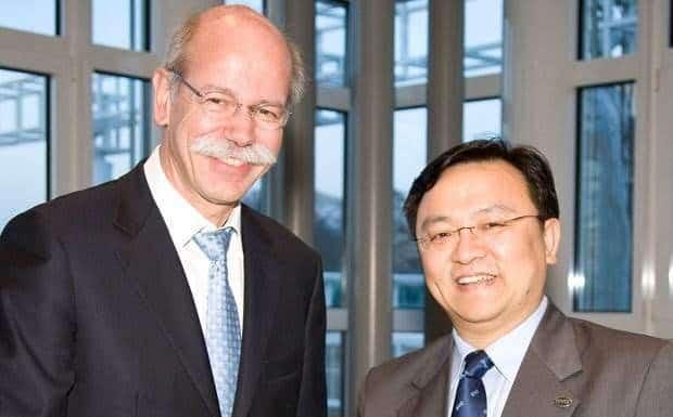 Daimler-Zetsche-BYD-Wang Chuan-fu