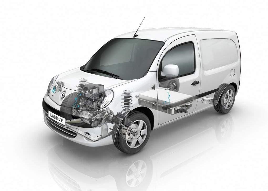 renault kangoo z e maxi z e elektro transporter f r die city elektroauto. Black Bedroom Furniture Sets. Home Design Ideas