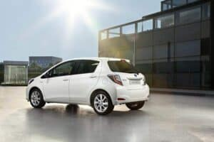 Toyota Yaris Hybrid Seite