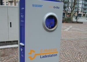 EnBW Ladestation