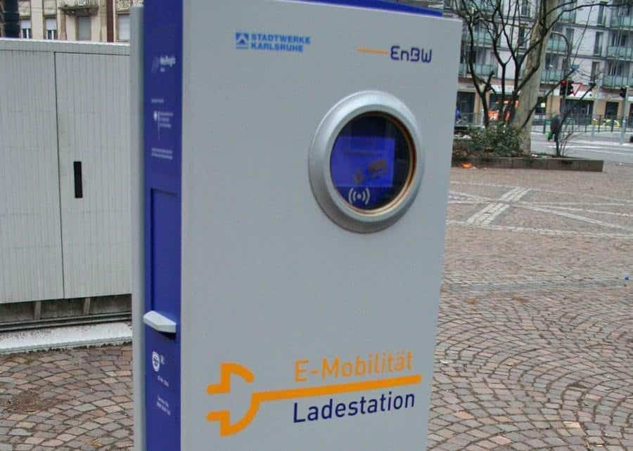 EnBW Ladestation
