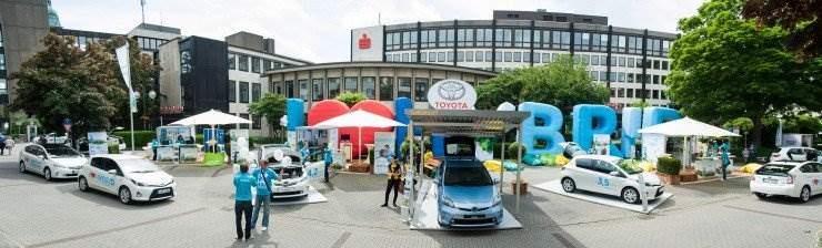 Toyota-Hybrid-Sommer Moenchengladbach