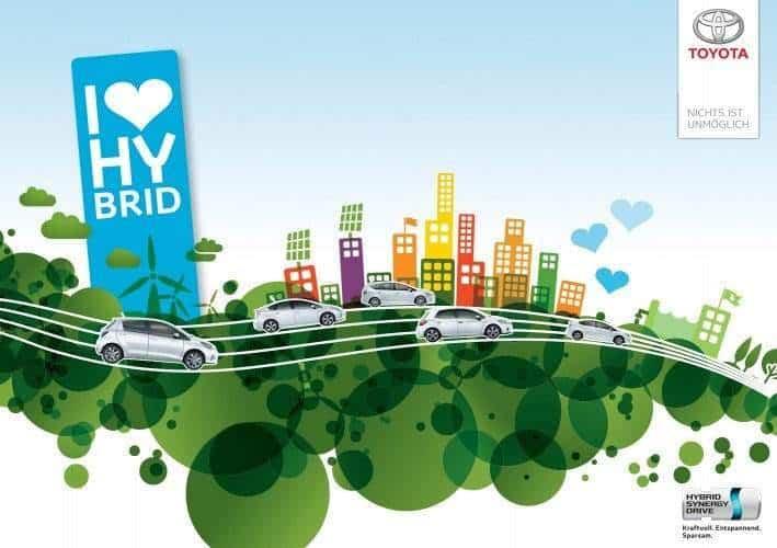 Toyota Hybrid Sommer 2012