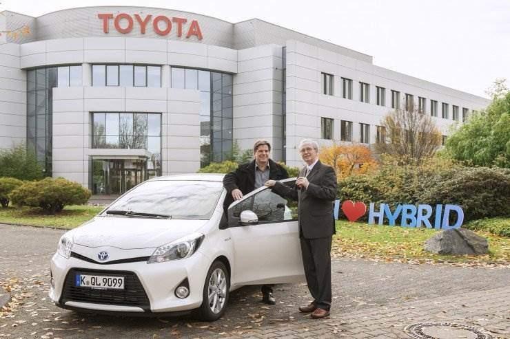 Hybrid Sommer Gewinner Yaris Hybrid