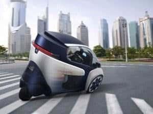 Toyota_i-ROAD-city