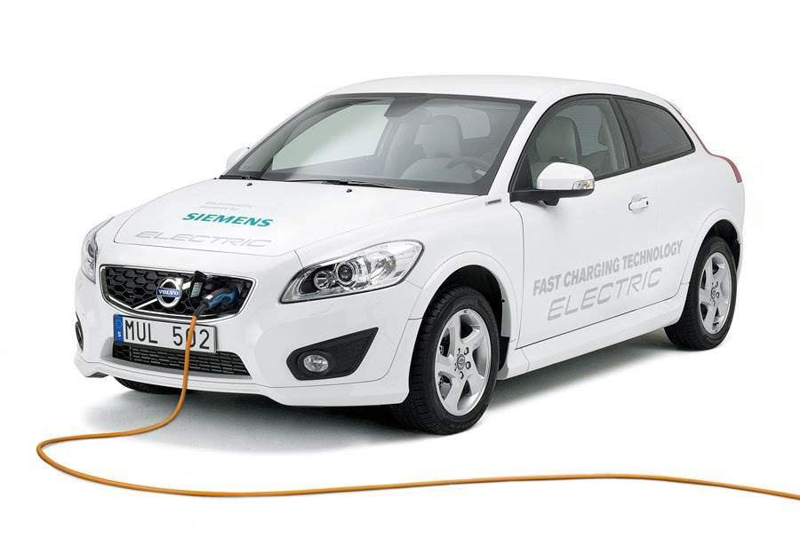 volvo-c30-electric-laden-siemens