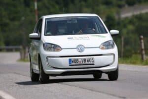 VW e-up! Silvretta e-Rallye 2013