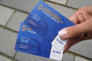 EnBW Prepaid-Ladekarte