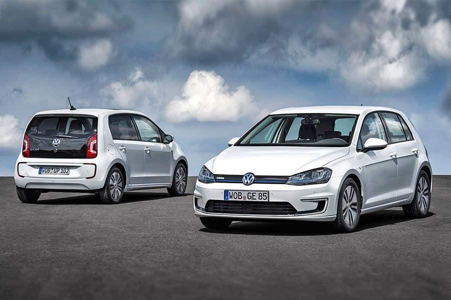 e-Golf und e-up! von VW