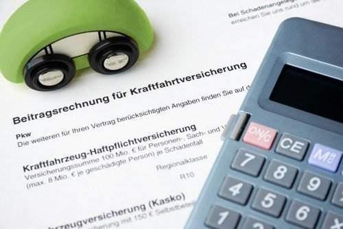 KFZ-Versicherung Rechnung