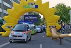 Elektroauto-Parade-Weltrekord-Zuerich-2013