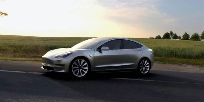 Tesla Motors 3
