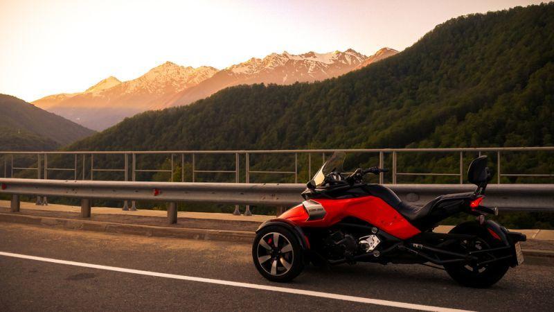 BRP Can-Am Spyder als Elektrofahrzeug