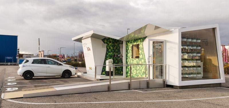 IKEA Ludwigsburg Charge Lounge