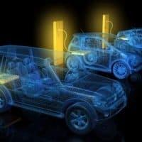 Eine Millionen E-Fahrzeuge bis 2022