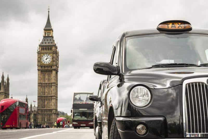 Diesel Taxis sollen raus aus London