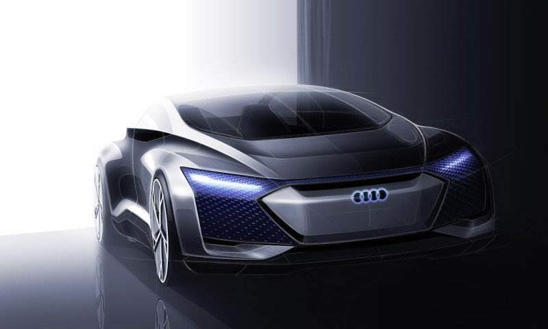 audi aicon concept car der audi ag auf der iaa 2017 elektroauto. Black Bedroom Furniture Sets. Home Design Ideas