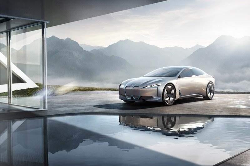 bmw i4 kommt: bmw ivision dynamics geht in produktion   elektroauto