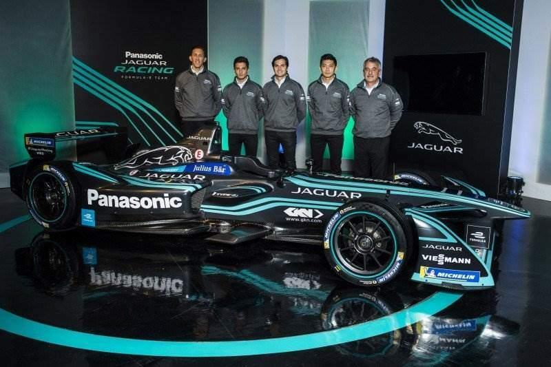 Panasonic Jaguar Racing Stellt Team Und I Type 2 F 252 R