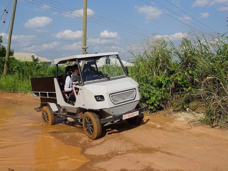 IAA: TUM-Forscher stellen Elektroauto für Afrika vor | Elektroauto ...