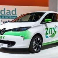 Renault Car-Sharing in Spanien