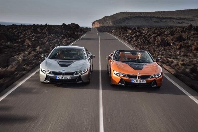 Neuer Bmw I8 Roadster Und Das Neue Bmw I8 Coupé Im Blick