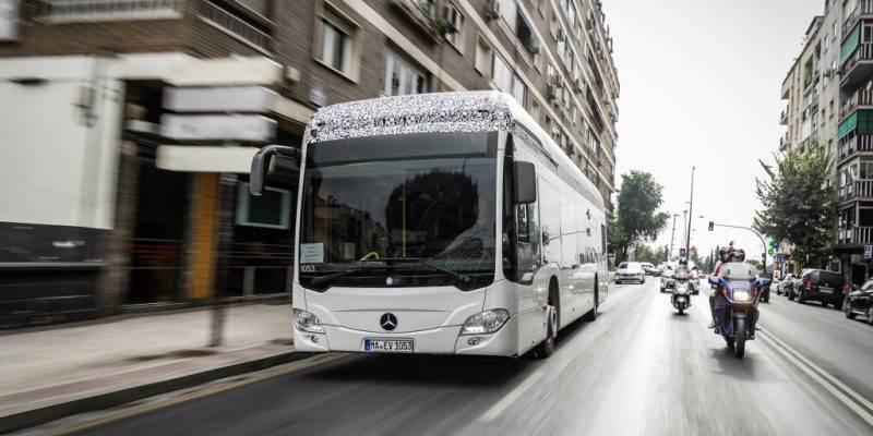 Vollelektrischer Stadtbus Mercedes-Benz Citaro