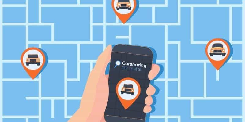 Carsharing noch mit niedriger E-Auto-Quote