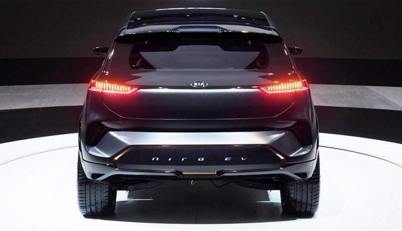 kia pr sentiert niro ev concept mit 383 kilometer reichweite elektroauto. Black Bedroom Furniture Sets. Home Design Ideas