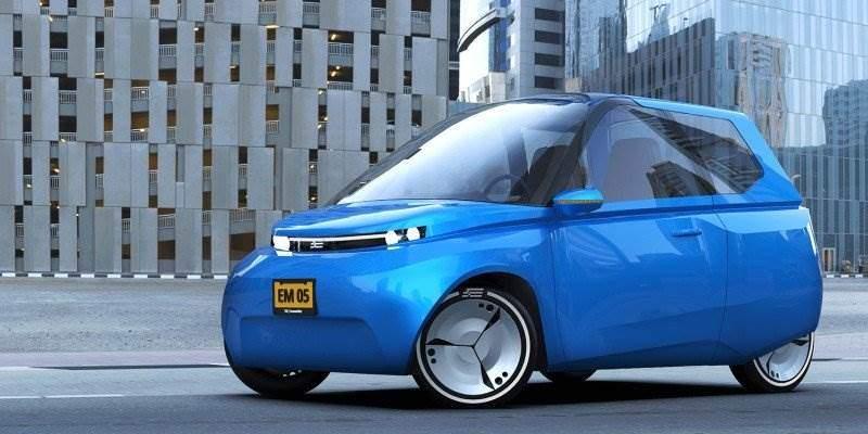 E-Kleinwagen Noah - Konzept eines recyclebaren Elektroautos ...