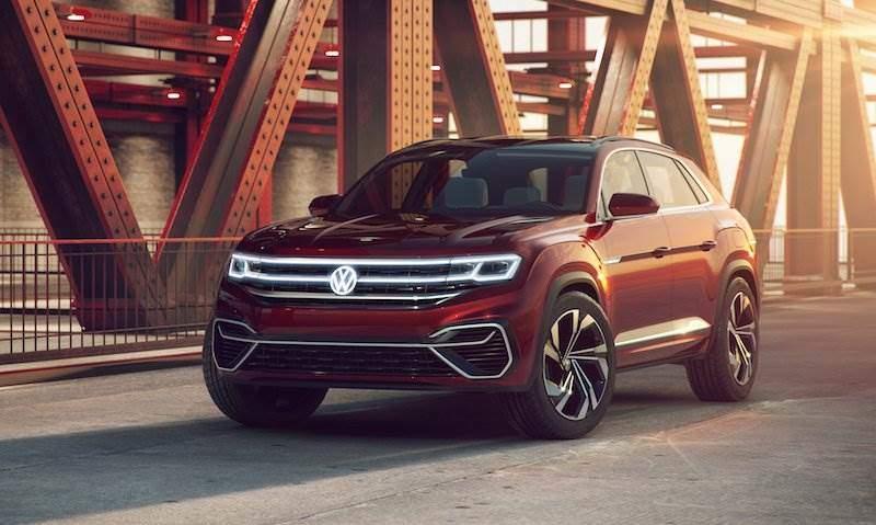 Mit Und Ohne Stecker Volkswagen Präsentiert Hybrid Suv Atlas Cross