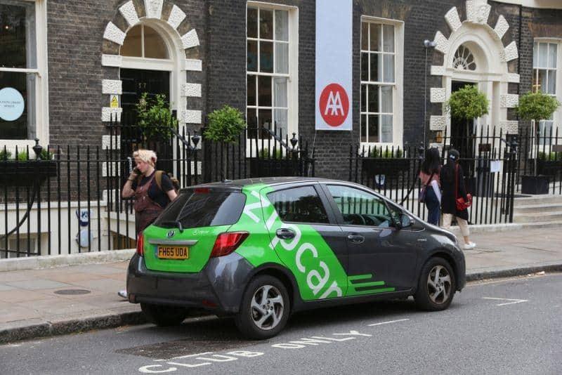 Zipcar Carsharing in London