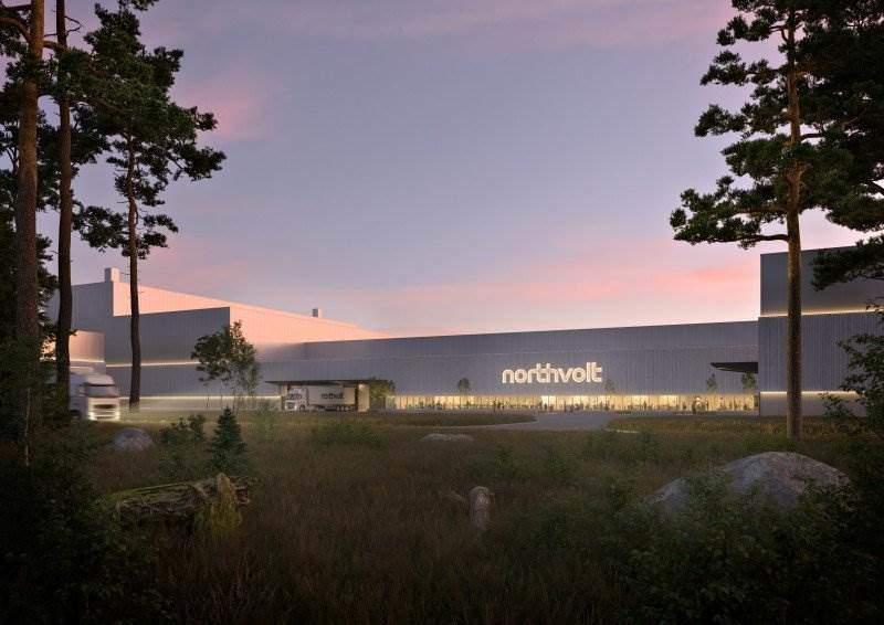 3D-Entwurf der Northvolt Labs | Northvolt