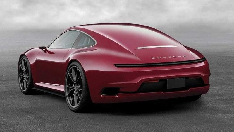 Porsche 911 Mission E Coupé zum Leben erweckt [Konzept ...