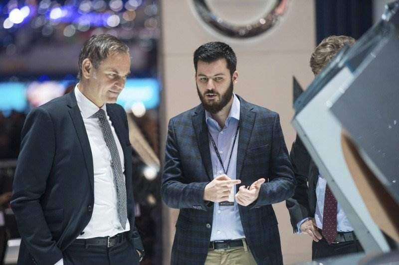 Oliver Blume, Vorstandsvorsitzender, Porsche AG, Mate Rimac, Gründer und CEO, Rimac Automobili   Porsche AG