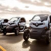 Renault Twizy im Sonnenschein