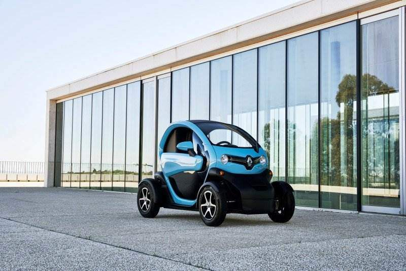 Renault Twizy in Blau