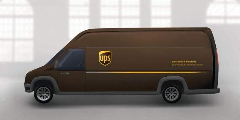 UPS E-Transporter von Workhorse